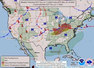 NOAA Forecast Map